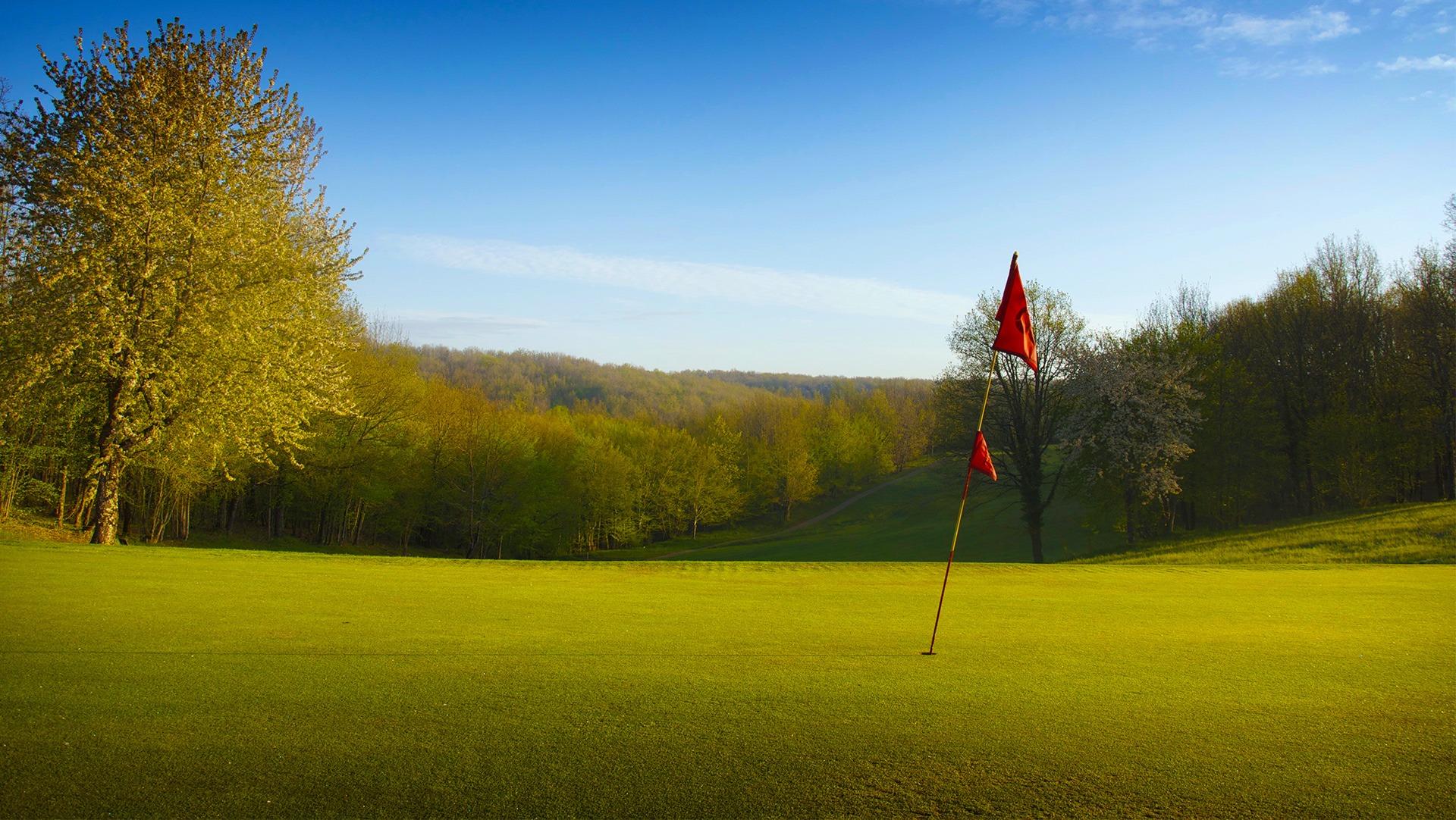 Golf 18 trous à Souillac en Vallée de la Dordogne - corrèze, lot - france