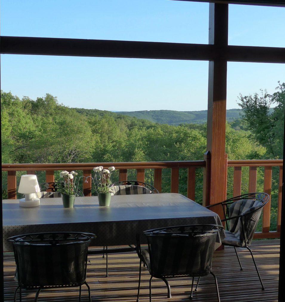 Résidence type Rocamadour - terrasse