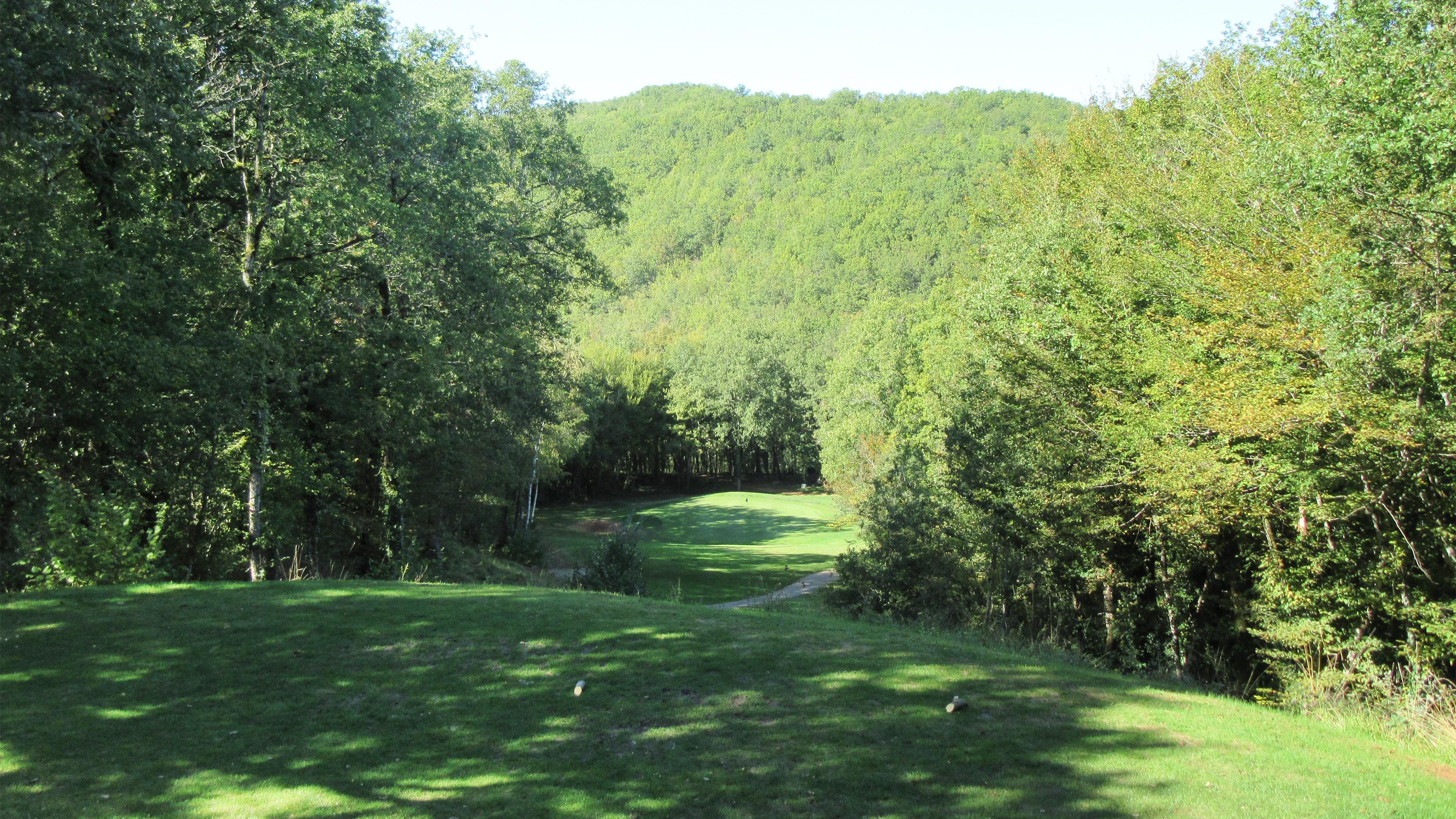 Trou numéro 12 - Golf de Souillac - Vallée de la Dordogne