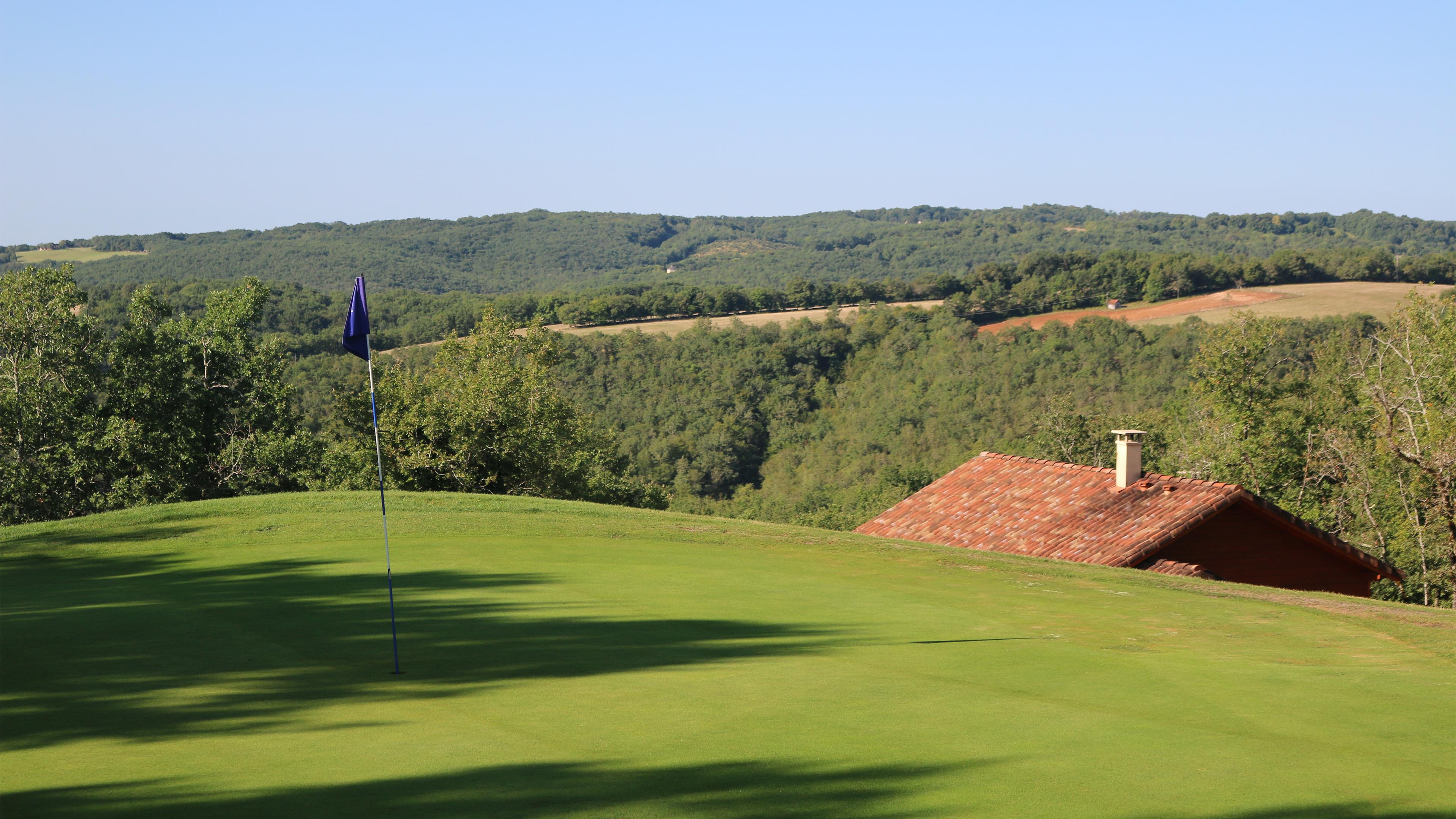 Trou numéro 17 - Golf de Souillac - Vallée de la Dordogne